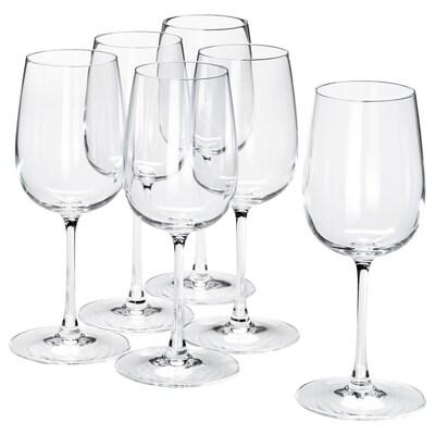 STORSINT wittewijnglas helder glas 20 cm 32 cl 6 st.