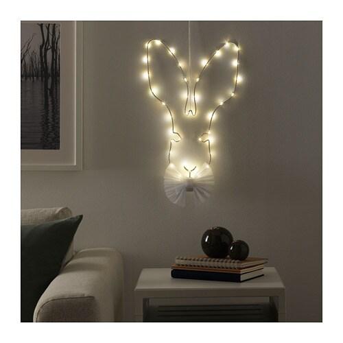 STR�LA Led-wand-/hanglamp IKEA Kan overal geplaatst worden omdat het op batterijen werkt en er geen aansluiting op het elektriciteitsnet is vereist.