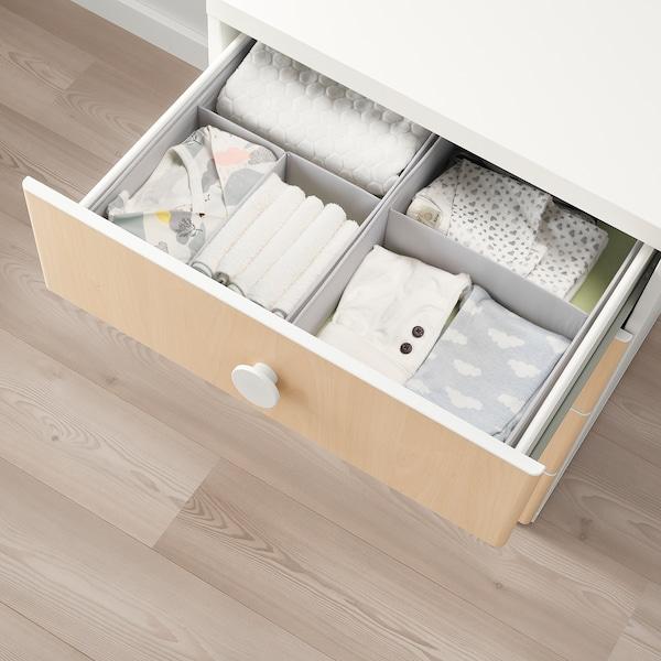 Beste STUVA / FÖLJA Opberger met lades, wit, berken, 60x50x64 cm - IKEA YM-66