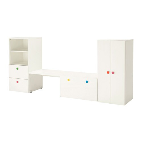 stuva f lja opbergcombinatie met bank ikea. Black Bedroom Furniture Sets. Home Design Ideas