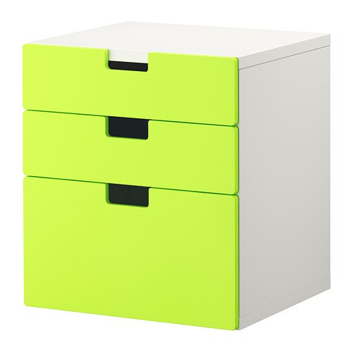 Ikea Keuken Groen : IKEA 3 Drawer Chest White