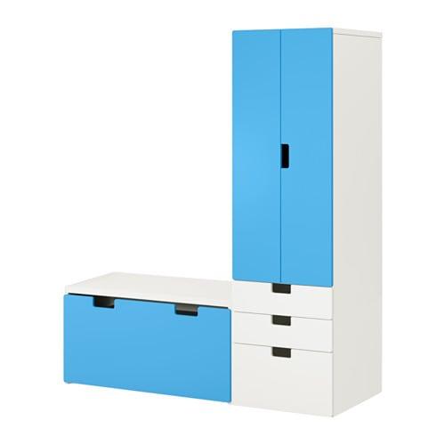 Gestuct Plafond Badkamer ~ STUVA Opbergcombinatie met bank IKEA Diep genoeg voor standaard