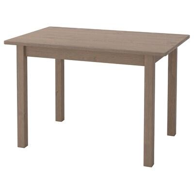SUNDVIK kindertafel grijs/lichtgrijs 76 cm 50 cm 50 cm