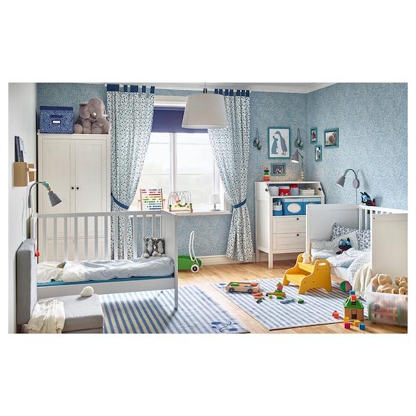 SUNDVIK babybedje wit 125 cm 67 cm 85 cm 60 cm 120 cm 20 kg