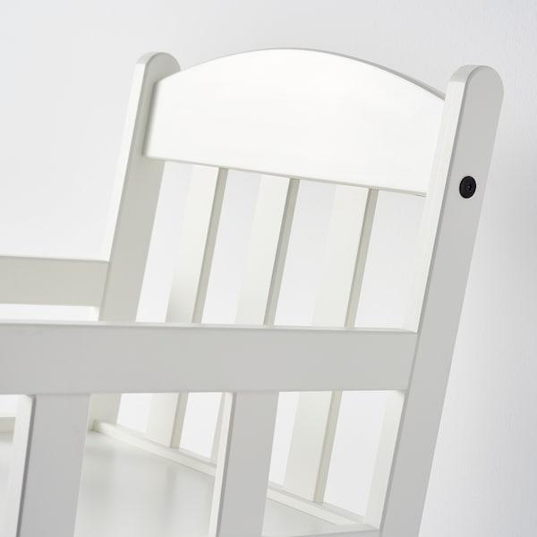 SUNDVIK Kinderschommelstoel, wit