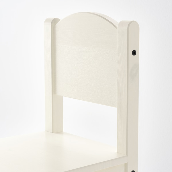 SUNDVIK Kinderstoel, wit
