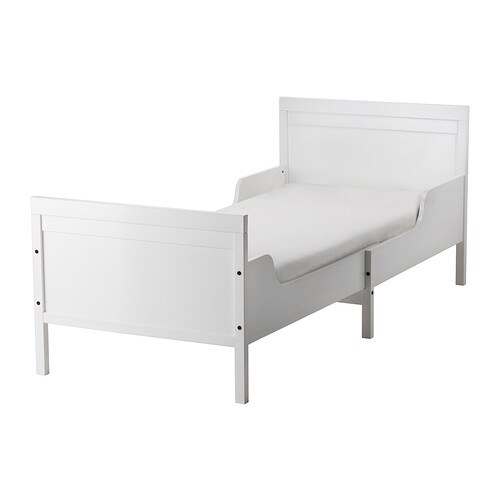 sundvik uittrekbaar bedframe m lattenbodem ikea. Black Bedroom Furniture Sets. Home Design Ideas