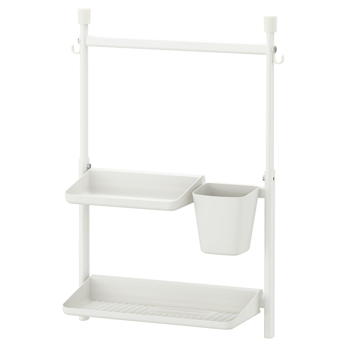Sunnersta Opbergset Keuken Zonder Boren Plank Afdruiprek Bak Ikea
