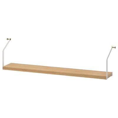 SVALNÄS Plank, bamboe, 81x15 cm