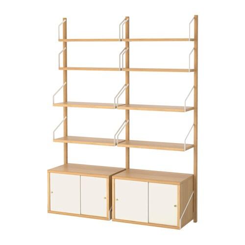 Svaln s wandopbergcombinatie ikea for Ikea mobile angolare