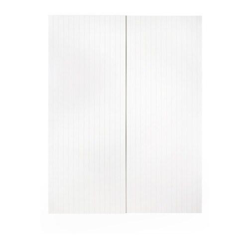 Ikea Schuifdeuren Monteren.Svorkmo Schuifdeur Set Van 2 200x201 Cm Ikea