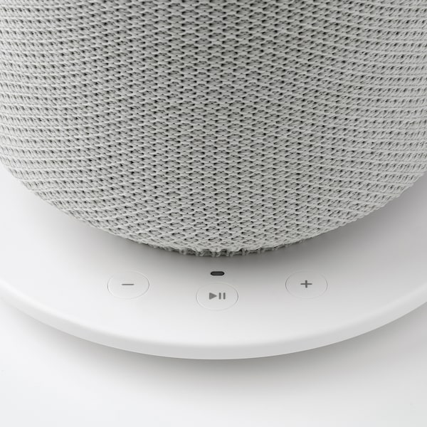 SYMFONISK tafellamp met wifi-speaker wit 7 W 216 mm 216 mm 401 mm 150 cm