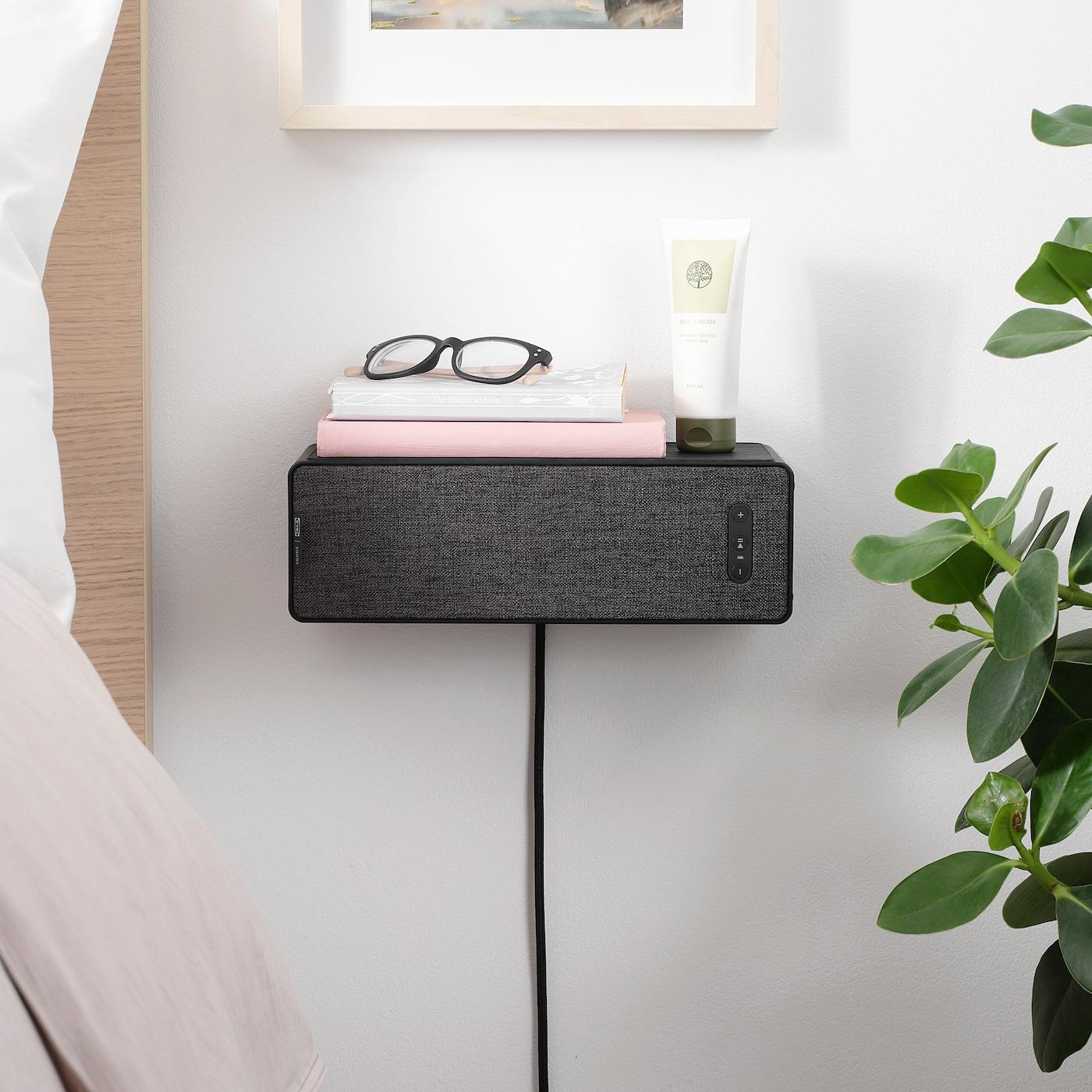 SYMFONISK Wifi-boekenplankspeaker, zwart