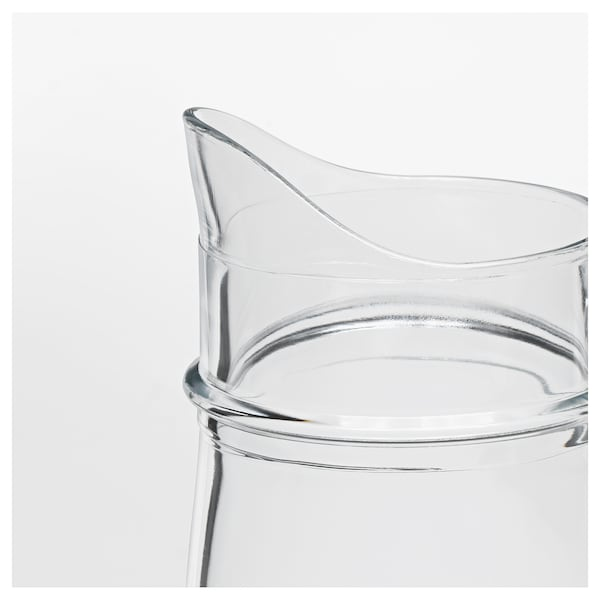 TILLBRINGARE Kan, helder glas, 1.7 l