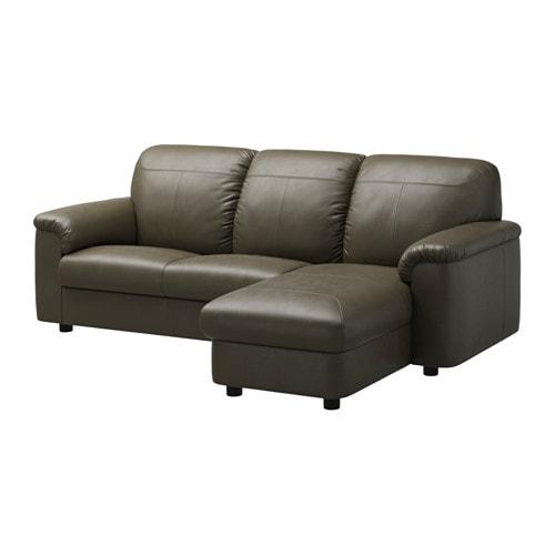 Timsfors 2 zitsbank met chaise longue mjuk kimstad for 1 zitsbank met chaise longue