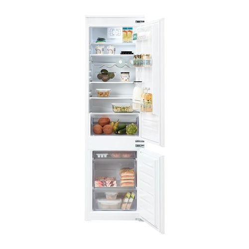 Genoeg TINAD Inbouw koelkast / vriezer A++ - IKEA BQ24