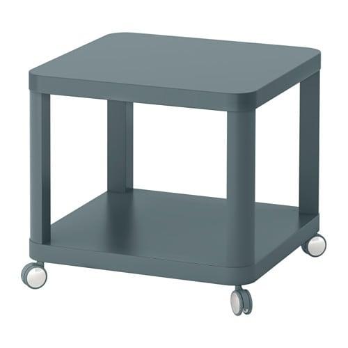 Ikea Bijzettafel Op Wieltjes.Tingby Bijtafel Op Wielen Wit Ikea