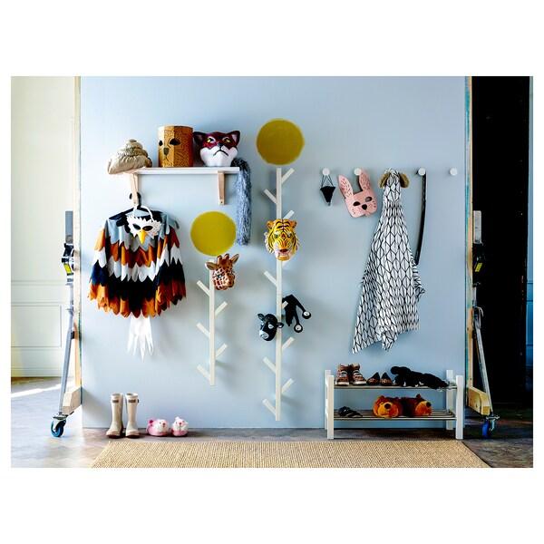 TJUSIG Hanger, wit, 78 cm