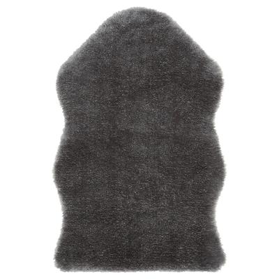 TOFTLUND Vloerkleed, grijs, 55x85 cm
