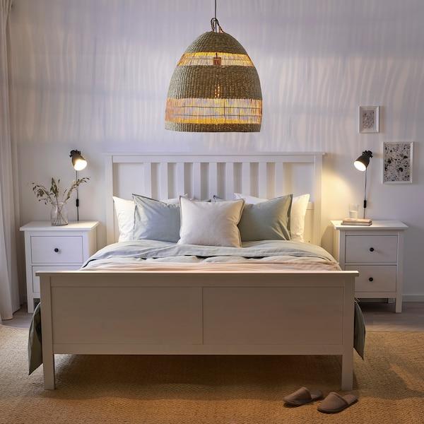 TORARED Hanglampenkap, zeegras/handgemaakt, 55 cm