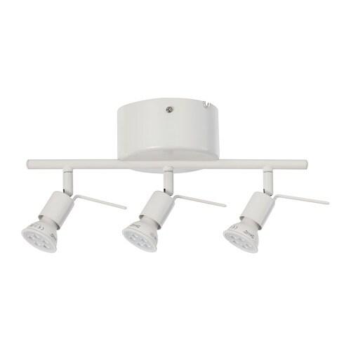 TROSS Plafondrail, 3 spots - IKEA