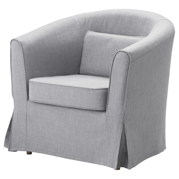 TULLSTA Hoes fauteuil Nordvalla middengrijs
