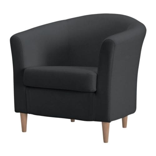 tullsta fauteuil ransta donkergrijs ikea. Black Bedroom Furniture Sets. Home Design Ideas