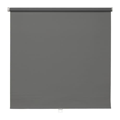 TUPPLUR Verduisterend rolgordijn, grijs - grijs - 100x195 cm - IKEA
