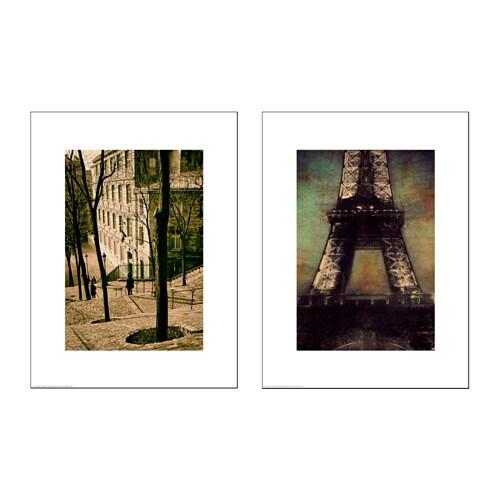 tvilling poster set van 2 ikea. Black Bedroom Furniture Sets. Home Design Ideas