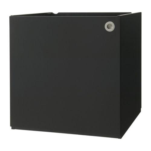 udden kast met deur zwart ikea. Black Bedroom Furniture Sets. Home Design Ideas