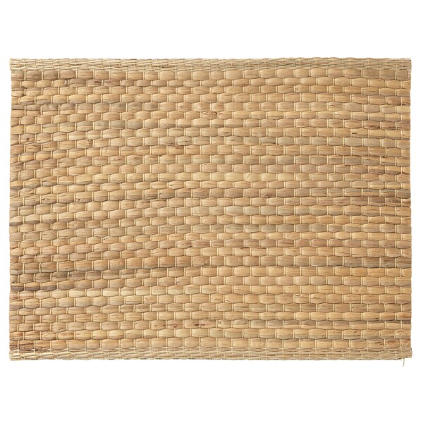 UNDERLAG Placemat, waterhyacint/naturel, 35x45 cm