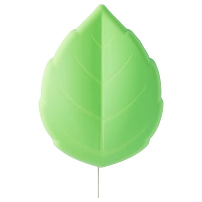 UPPLYST Led-wandlamp, blad groen