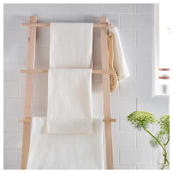 VÅGSJÖN badhanddoek wit 140 cm 70 cm 0.98 m² 400 g/m²