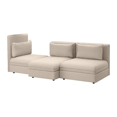 VALLENTUNA 3 zitsbank   Orrsta beige   IKEA