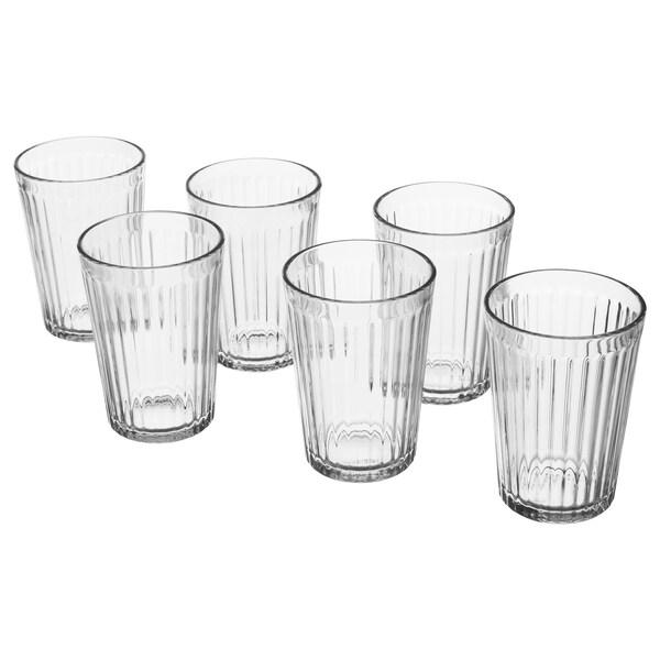VARDAGEN glas helder glas 10 cm 20 cl 6 st.