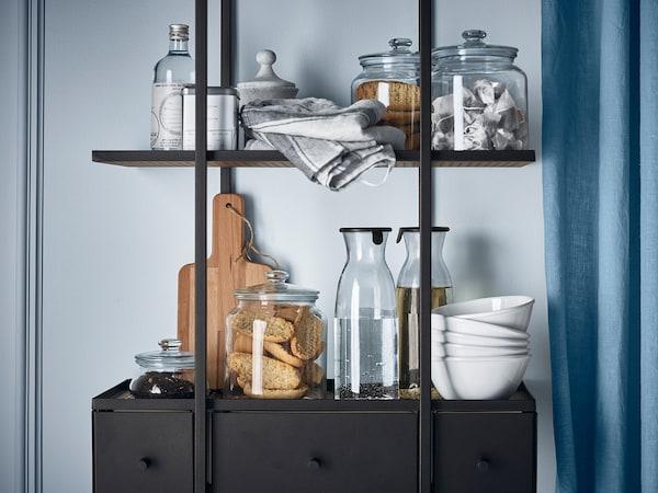 IKEA VARDAGEN Voorraadpot met deksel