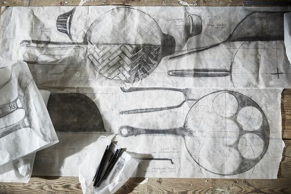 VARDAGEN Koekenpan, gietijzer, 28 cm