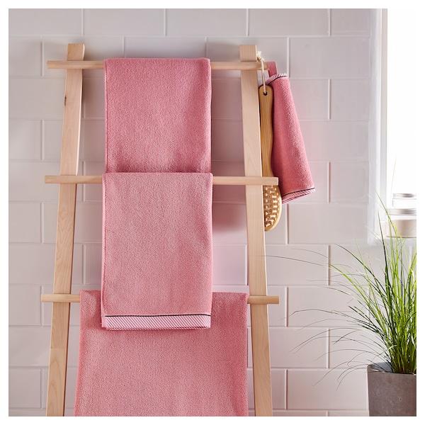 VIKFJÄRD badlaken roze 150 cm 100 cm 1.50 m² 475 g/m²
