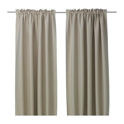 VILBORG Gordijnen, 1 paar - IKEA