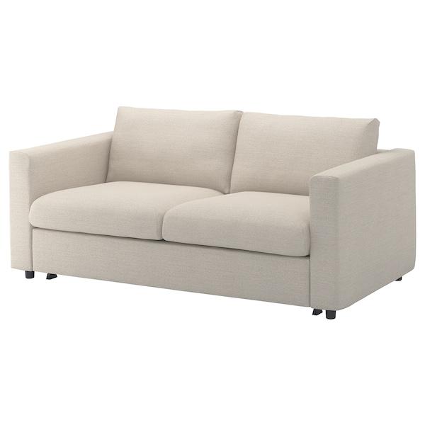 Ikea Metalen Slaapbank.Vimle 2 Zits Slaapbank Gunnared Beige Ikea