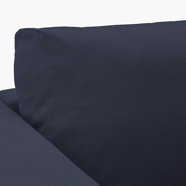 VIMLE Hoekbank, 3-zits, met open eind/Orrsta zwartblauw