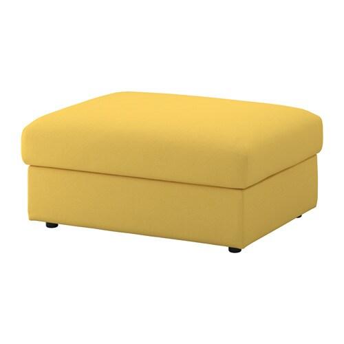 VIMLE Voetenbank met bergruimte   Orrsta goudgeel   IKEA