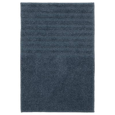 VINNFAR Badmat, donkerblauw, 40x60 cm