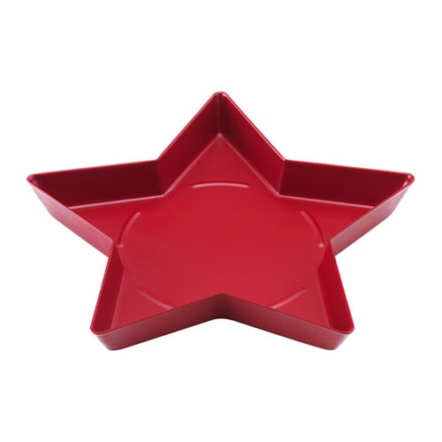 VINTER 2015 kaarsenschotel in stervorm