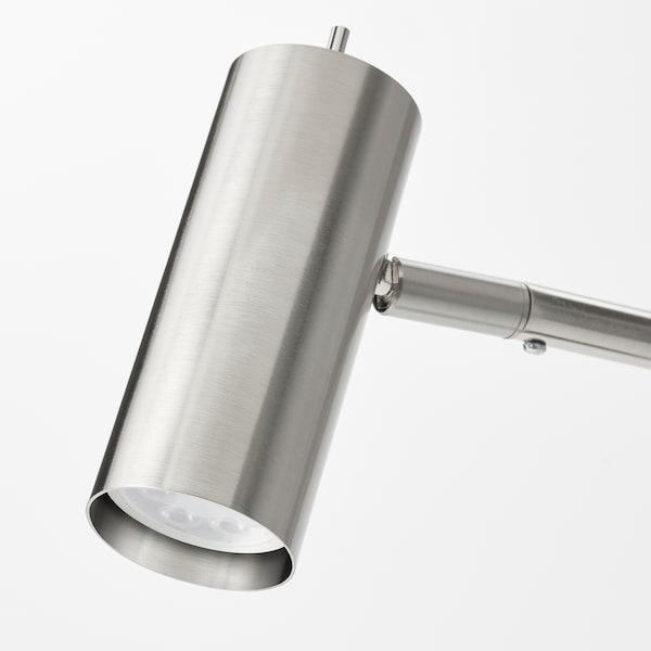 VIRRMO Bureaulamp, vernikkeld, 54 cm