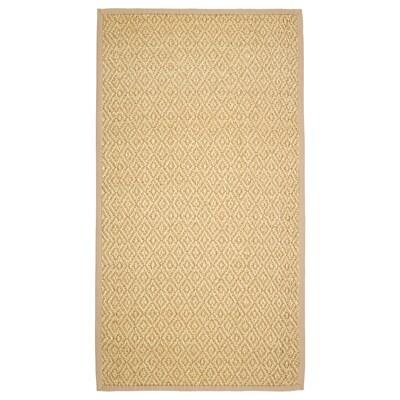 VISTOFT Vloerkleed, glad geweven, naturel, 80x150 cm