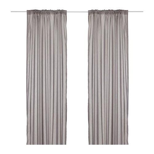 Hangend Toilet Badkamer ~ VIVAN Gordijnen, 1 paar IKEA De gordijnen laten licht door, maar gaan