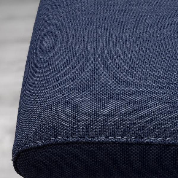 VOLFGANG Eetkamerstoel, verchroomd/Orrsta zwartblauw