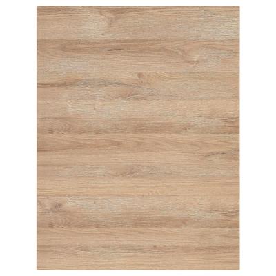 VOXTORP Bedekkingspaneel, eikenpatroon, 62x80 cm