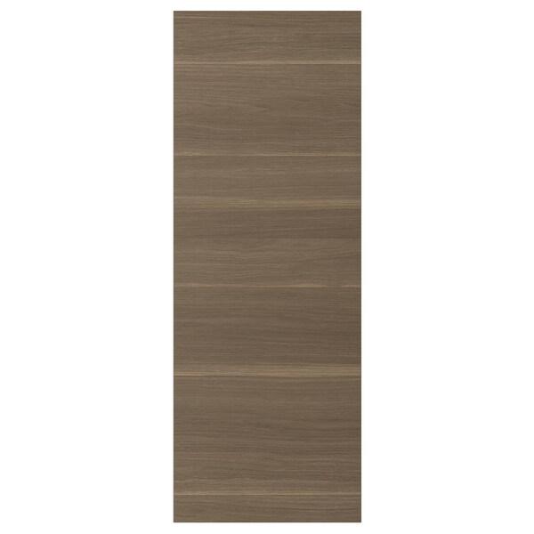 VOXTORP Bedekkingspaneel, walnootpatroon, 39x106 cm